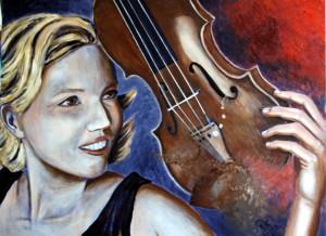 Julia mit Geige